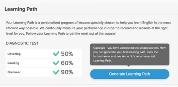 Online English Learning Platform